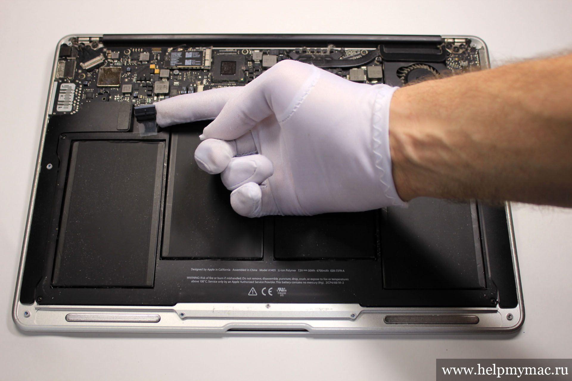 Аккумулятор MacBook Air 2011